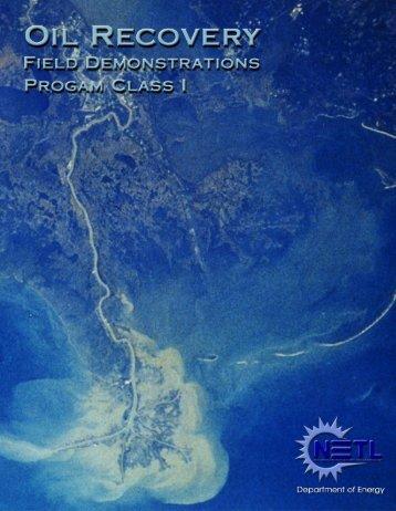 Class I (PDF) - National Energy Technology Laboratory - U.S. ...