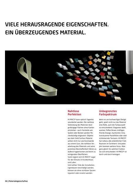 HI-MACS Broschüre 2012