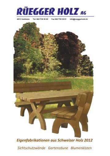 Menz Holz Katalog
