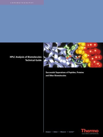 HPLC Analysis of Biomolecules Technical Guide - Interscience