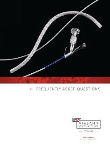 FAQ Brochure - Gore Medical