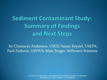 Maia Singer, Stillwater Sciences - KlamathRestoration.gov