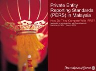 Private Entity Reporting Standards (PERS) in Malaysia - PwC