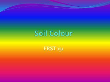 Soil Colour