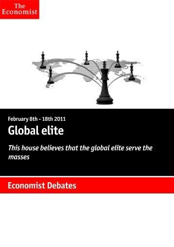 Economist Debate