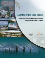 Learning from Each Other - Canadian Harm Reduction Network