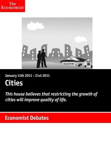 Economist Debates