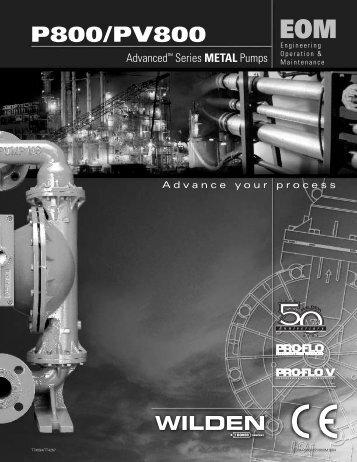 "P800/PV800 - 51mm (2"") EOM - Glauber Equipment Corporation"