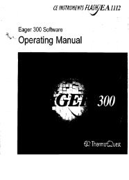 Operating Manual - Gemini BV