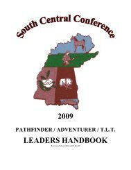 Pla Pathfinder Leadership Award Sda General Conference Youth