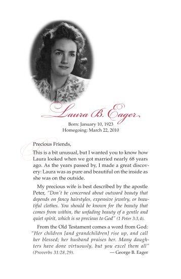 Laura B. Eager - Mailbox Club