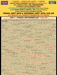 2 days – 1000's of lots - Petrowsky Auctioneers, Inc.