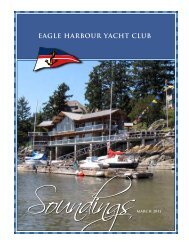 March Soundings 11 - Eagle Harbour Yacht Club
