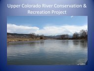 Upper Colorado River Conservation & Recreation Project