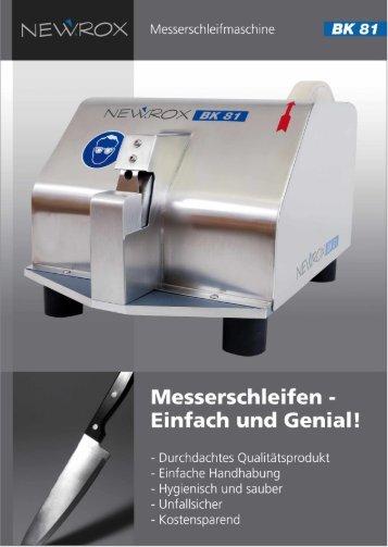 Messerschleifen - - Newrox