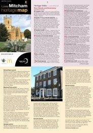 Lower Mitcham Heritage Map - Merton Council