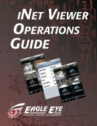 iNet-Viewer Manual - Eagle Eye DVR