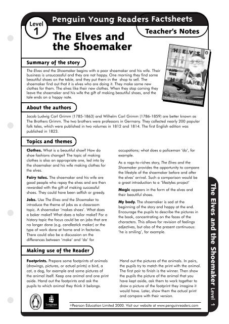 Elves and the shoemaker read