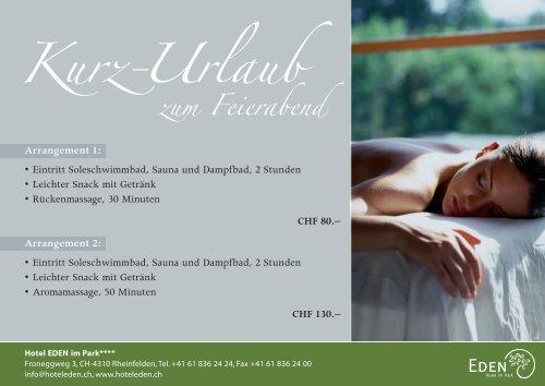 Romantik Special - Hotel Eden