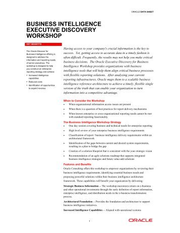 Oracle Data Sheet