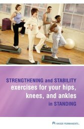 STRENGTHENING and STABILITY exercises for your hips, knees ...