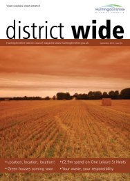 District Wide September 2010 - Huntingdonshire District Council