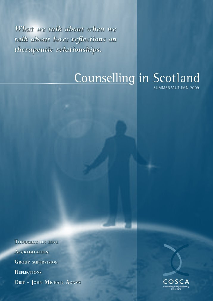 group counseling a personal reflection Professional school counselor small group counseling guide  the comprehensive guidance curriculum framework components which include personal/social.