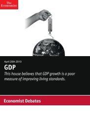Economist Debate: GDP