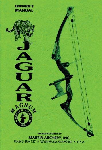 Jaguar Magnum.indd - Martin Archery