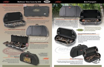 Mathews® Bow Cases by SKB Bow Transport