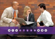 downtown | down to earth - NYU Stern School of Business - New ...