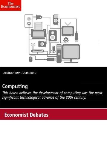 Economist Debate: Computing