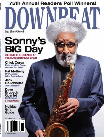 downbeat.com december 2010 U.K. £3.50