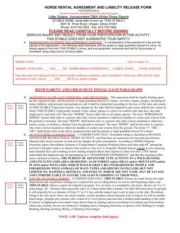 Liability Release Form Medical Release Form For Minor Medical