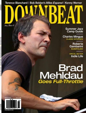 downbeat.com march 2011 U.K. £3.50