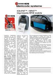 ICS-P4T™ / RP4T™ Imprimante RFID mobile - ICS Identcode ...