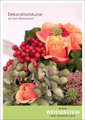 Dekorationskurse - Isabells Bluemelade, Solothurn