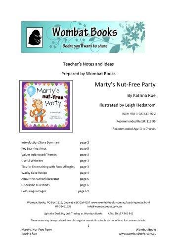Marty's Nut-Free Party - Dennis Jones & Associates