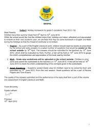 billabong school bhopal homework