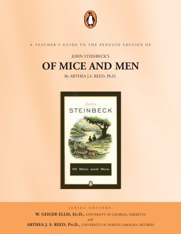 Of mice and men foreshadowing in chapter 1