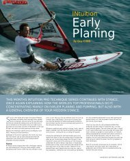Early Planing - Guy Cribb
