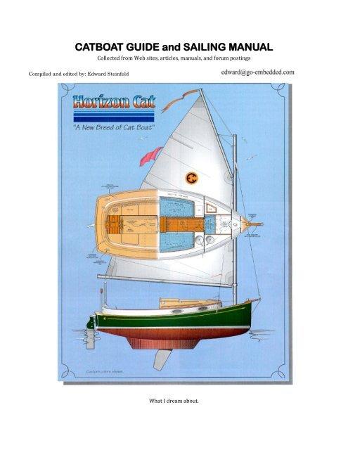 Catboat guide and sailing manual gulf island sails.