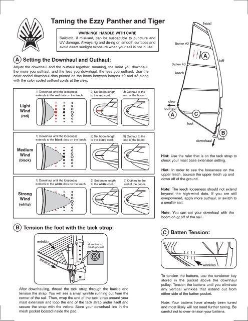 2012 tiger rigging-2 ai - Ezzy Sails