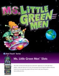 Ms. Little Green Men™ Slots - IGT.com