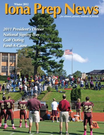 2012 Winter Issue - Iona Preparatory School