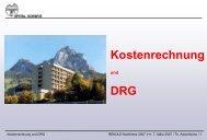 Kostenrechnung DRG - Hplus