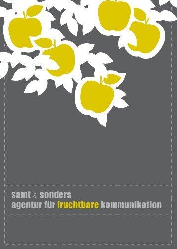 samt & sonders agentur für fruchtbare kommunikation