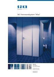 Prospekt WC-Trennwandsystem