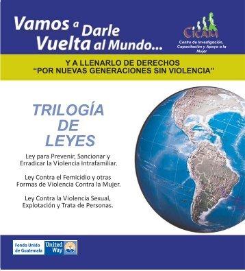TRILOGÍA DE LEYES - SOS Mujeres