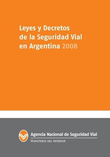 Leyes y Decretos - Ministerio del Interior